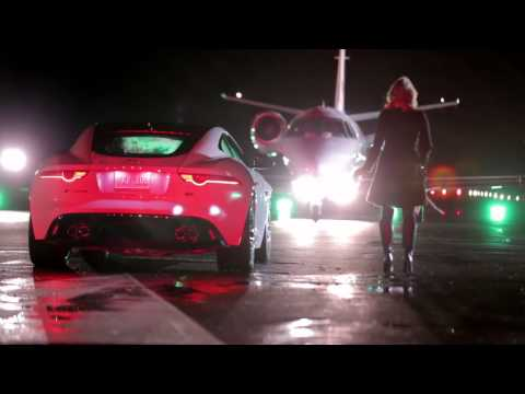 Jaguar F-TYPE Coupé comercial making of with Ben Kingsley Tom Hiddleston (super bowl)