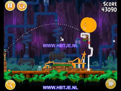 Angry Birds Short Fuse 25-5 3 stars