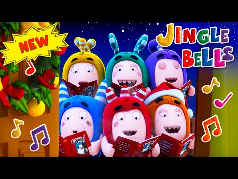 Oddbods | CHRISTMAS 2019 | BABY BODS SING JINGLE BELLS | Funny Cartoons For Kids