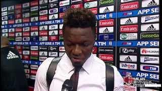 Muntari: ''Abbiamo i piedi per terra'' | AC Milan Official