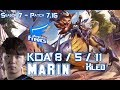 AFs MaRin KLED vs LUCIAN Top Patch KR Ranked