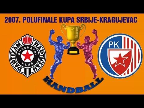 RK Partizan – RK Crvena Zvezda (Polufinale Kupa Srbije 2007)