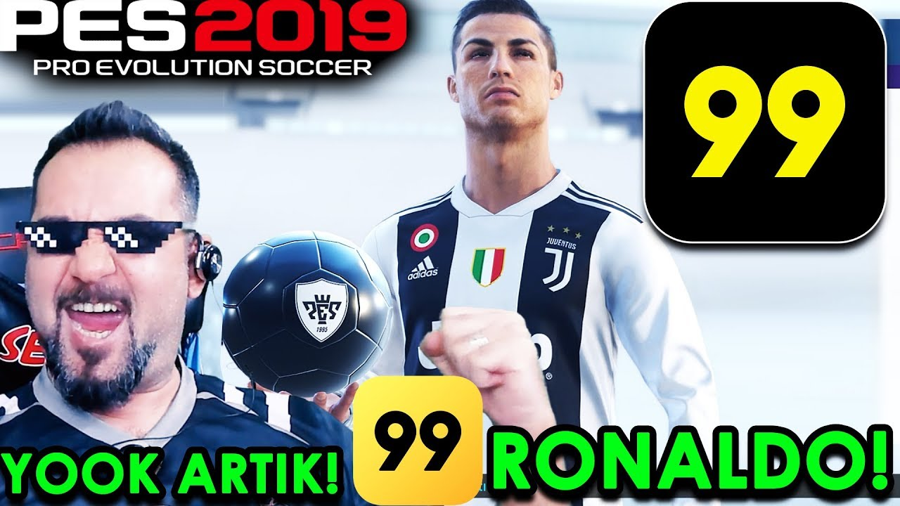 Tube uz -99 C  RONALDO! 8 SİYAH TOP! | PES 2019 SİYAH TOP AÇILIMI