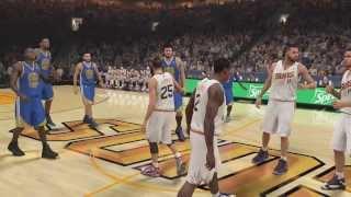 NBA 2K14 PS4 Suns My GM Ep. 16 Andrew Wiggins VS Jabari