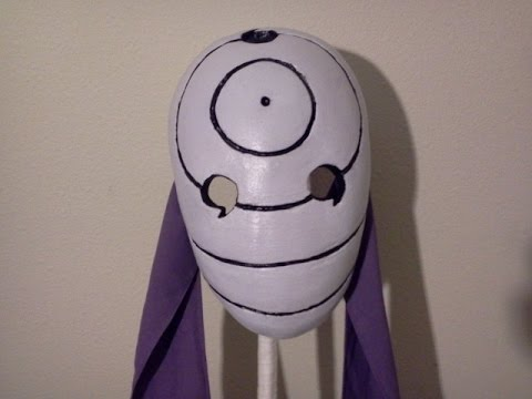 Kakashi Mask Tutorial Tutorial Obito War Mask