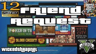 GTA V Friend Request Mission Let's Play Walkthrough EP12 Part 12 HD 1080p