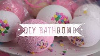 wendytung – DIY Valentines Day Bath Bombs (Vanilla Cupcake Sprinkles!)