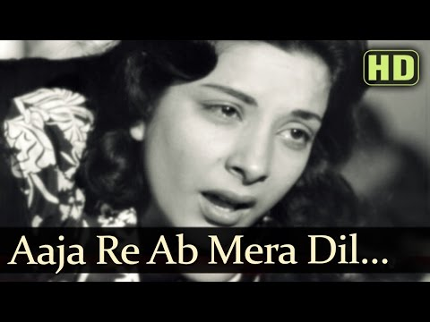 Aa Ja Re Ab Mera Dil Pukara - Raj Kapoor - Nargis - Aah - Lata - Mukesh - Evergreen Hindi Songs