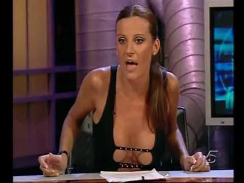 Sonia monroy striptease in antena 3 - 4 1