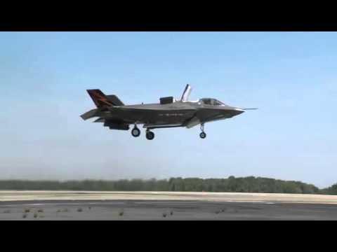 Xem chiến đấu cơ F-35 của Mỹ lên thẳng