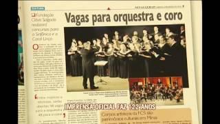 Imprensa Oficial de Minas comemora 120 anos com lan�amento de obras liter�rias