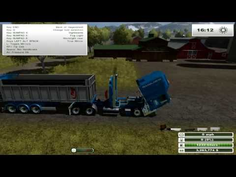 Farming Simulator 2013: Oversize Mod Showcase - Kenworth Road Train