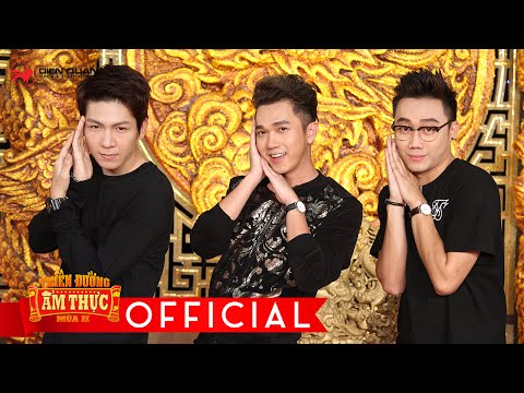 Thiên đường ẩm thực 2 | tập 14 full hd: Kelvin Khánh, Minh Xù tăng động khiến Ông Hoàng