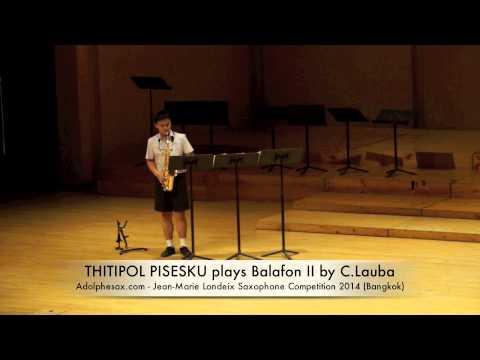 THITIPOL PISESKUL plays Balafon II by C Lauba