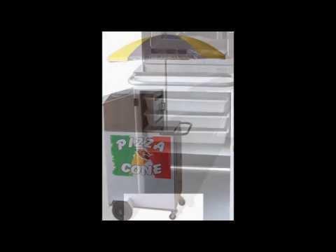 Maquina de fazer Pizza compacta Brasil Carrinhos