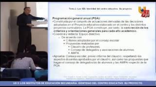 UNIDAD 2 - Organización y Gestión de centros - Masterprof UMH.