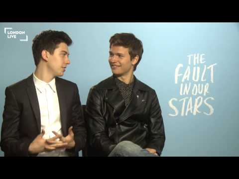 Ansel Elgort & Nat Wolff: If you don't cry at this film you have a heart of ice