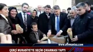 Mehmet Çerçi Muradiye'ye çıkarma yaptı