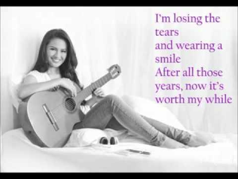 Glad it's Over by Julie Anne San Jose (lyrics)