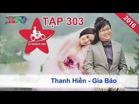 LỮ KHÁCH 24h - Tập 303 | Vợ chồng Thanh Hiền - Gia Bảo tay trong tay tại Đà Nẵng | 10/01/2016