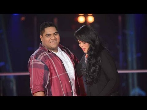 Karen Andrews (Miss Murphy) And Sione Felila Sing People Get Ready: The Voice Australia Season 2