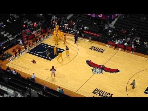Indiana Pacers Intro in Atlanta