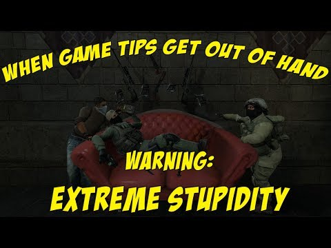 When Game Tips Get Out of Hand in CS:GO - Funny Moments
