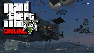 "GTA 5 Online ""SECRET"" Spinning Square Under Fort Zancudo"