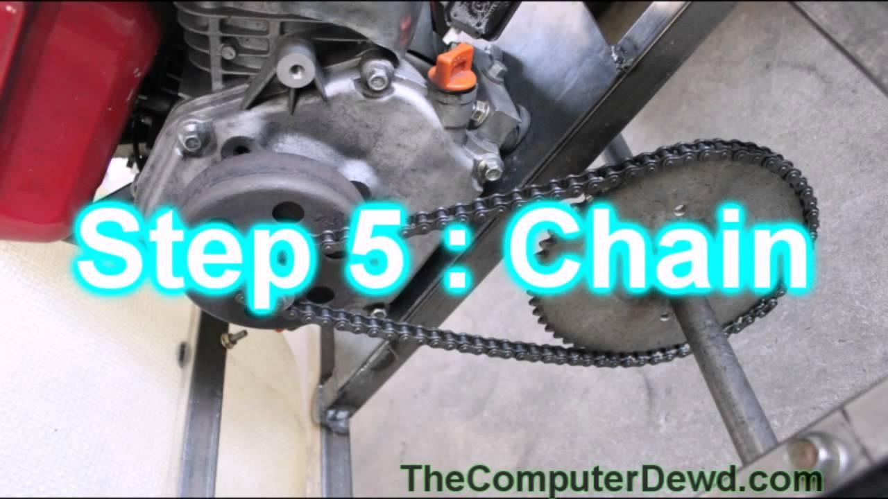 Vertical Shaft Engine Go Kart : Vertical engine go kart free image for
