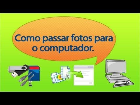 Hình ảnh trong video Como passar fotos para o computador.