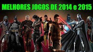 20 MELHORES LANÇAMENTOS DE JOGOS DE 2014 E 2015!!!