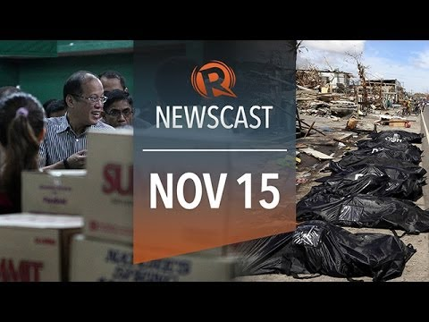 Rappler Newscast: Typhoon Haiyan, relief operations, PH growth