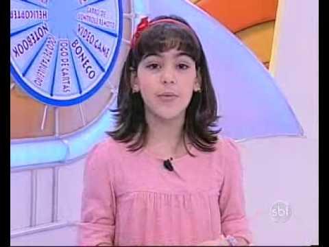 Bom Dia & Cia - Ana Vitória e Matheus brincam com telespectador