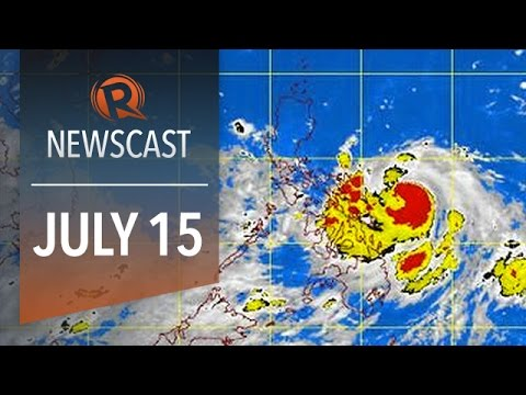 Rappler Newscast: Typhoon Glenda (Rammasun), Aquino yellow ribbon, Indonesian corruption crackdown