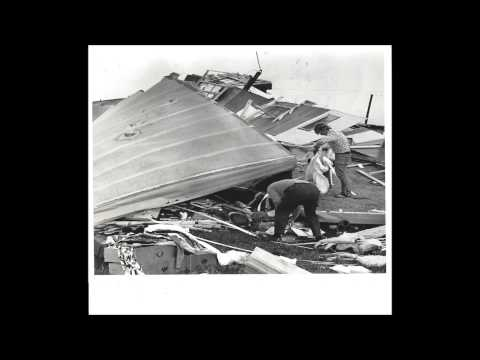 WJMW AM-Description of F5 Tornado damage at Lawson's Trailer Court, Tanner, Alabama-April 3 1974
