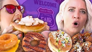 12 Craziest Foods at the LA County Fair!