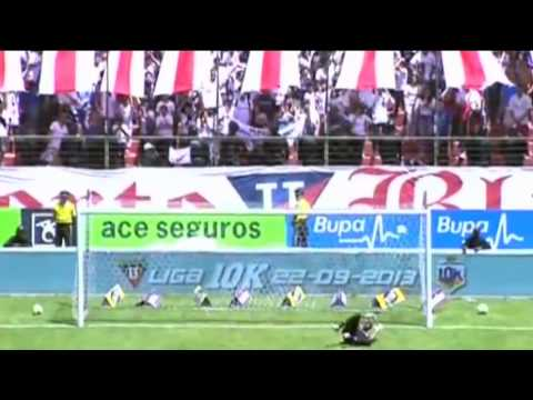 Spectacular goal from Mendez - LDU Quito vs Manta