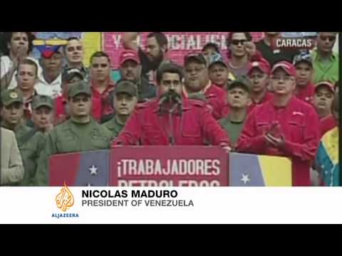 Venezuela's Maduro calls for dialogue