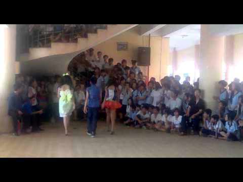 Trường THCS Phan Bội Châu - Biểu diễn thời trang - Lớp 9a5