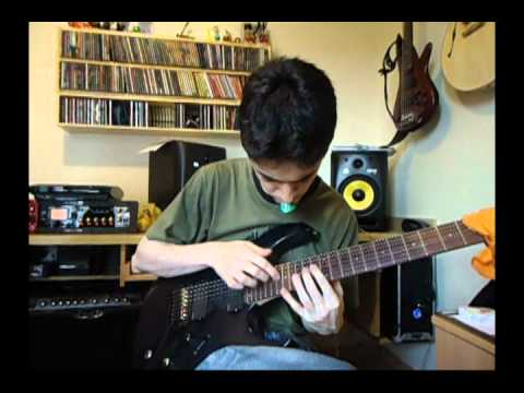 Buckethead - Jordan (solo cover by Daniel Bernal)