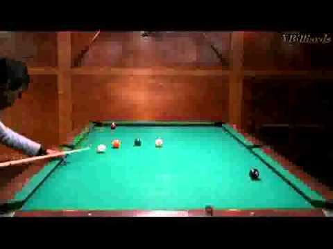 9 balls billiards best 5 rails bank shots, 4 rails bank shots