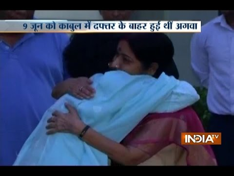 Judith D'Souza, Indian woman kidnapped in Kabul, rescued: Sushma Swaraj