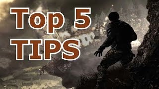 COD Ghosts Top 5 Unknown Pro Tips For Multiplayer