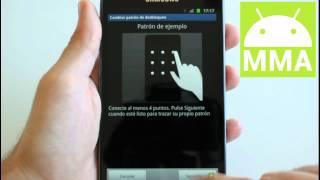 Cómo Poner Un Patrón De Bloqueo En Mi Móvil Android