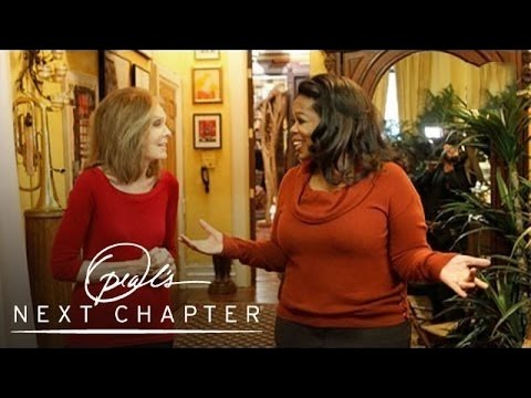 Gloria Steinem's New York City Apartment - Oprah's Next Chapter - Oprah Winfrey Network