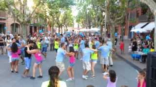 Vídeo de exhibición de rueda salsa cubana del Malecón de la Salsa en Begues