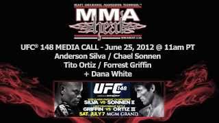 UFC 148: Anderson Silva Vs Chael Sonnen II Pre-Fight Media