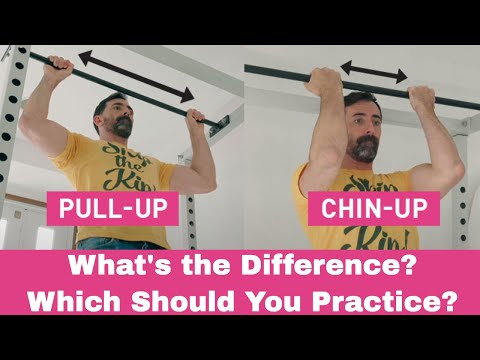 Pull-Ups vs Chin-Ups: How to train and which one is right for you