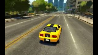 Grand Theft Auto IV Ford Mustang GT500 Epic Car Crash