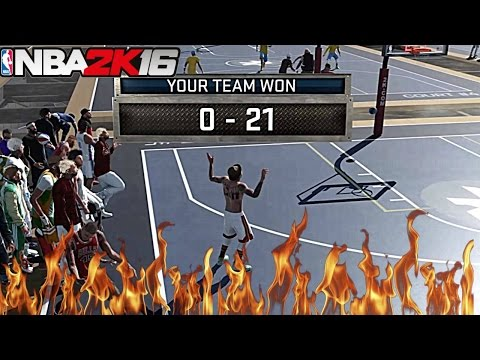 EXPOSED HIM!! DROPPED 21 PTS ON HIS HEAD!!!! NBA 2K16| MYPARK
